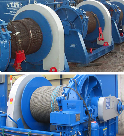 Hydraulic Winches and Power Packs