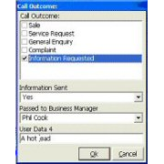 Business Data Collection and CRM Integration