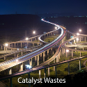 Precious metal recovery from spent catalyst waste