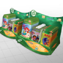 Leapfrog 'TAG' shelf trays POP Display