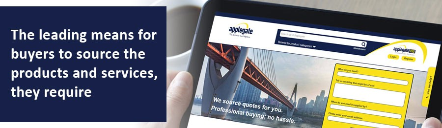 Applegate helps buyers find the goods and services their organisation needs