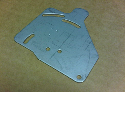 CNC punching sheet metal brackets
