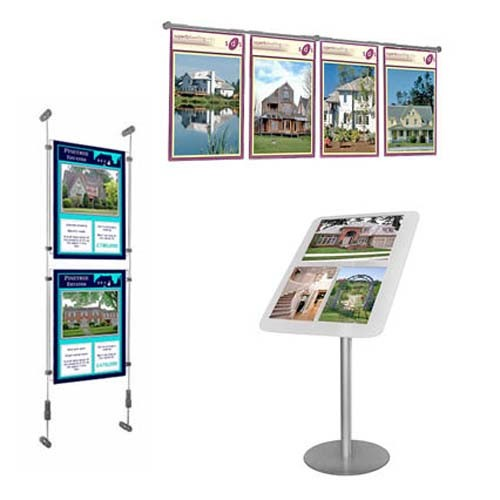 Estate Agent Displays