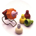 Nozzles for pre-treatment applications