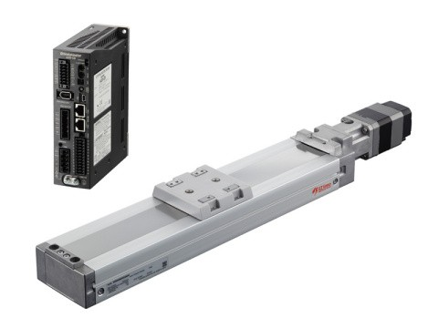 EZS Series - Dust Resistant Linear Slides Equipped with Absolute Encoder