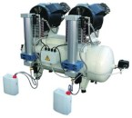100 LITRE TANK - WITH DRYER OIL FREE COMPRESSORS - WITH DRYER - 5.00 HP/3.6 KW