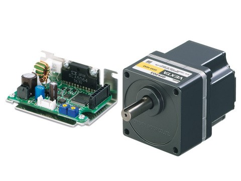 BLH Series - 24VDC Brushless DC Motors with Compact Drivers