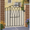 A Range of Metal Garden Gates in a Choice of Sizes