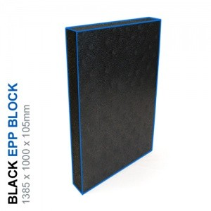 EPP Block 40g/l - 1385x1000x105mm (Black)