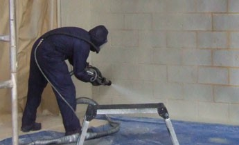 Spray Applied Protective Wall Coatings