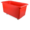 Static & Mobile Plastic Storage Tanks, Mobile Trucks, Round Storage Bins and Bar Trolleys