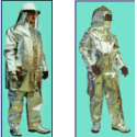 Aluminised Fire fighting Suit