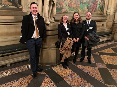Applegate Apprentices visit Parliament