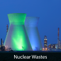 Stabilising and reducing the volume of radioactive waste