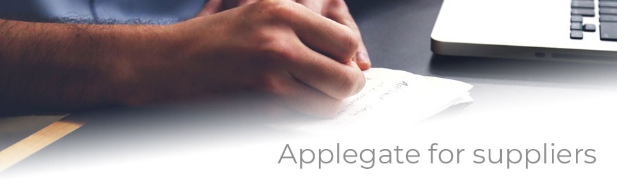 Applegate for Suppliers