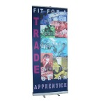 SF3: Printed roller banners (pull up banners)
