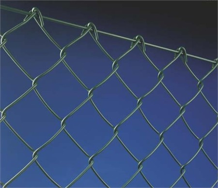 Galvanised Core Chain Link Fencing