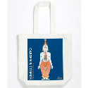 CANVAS GUSSETED BAG PRINTED FULL COLOUR
