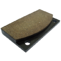 ICP Replacement Brake Pads for Dellner Friction Brake Pads