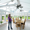 Remote Control Conservatory Blinds