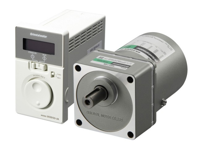 US2 Series - AC Induction Speed Control Motor and Controller Package with Broad Functionality
