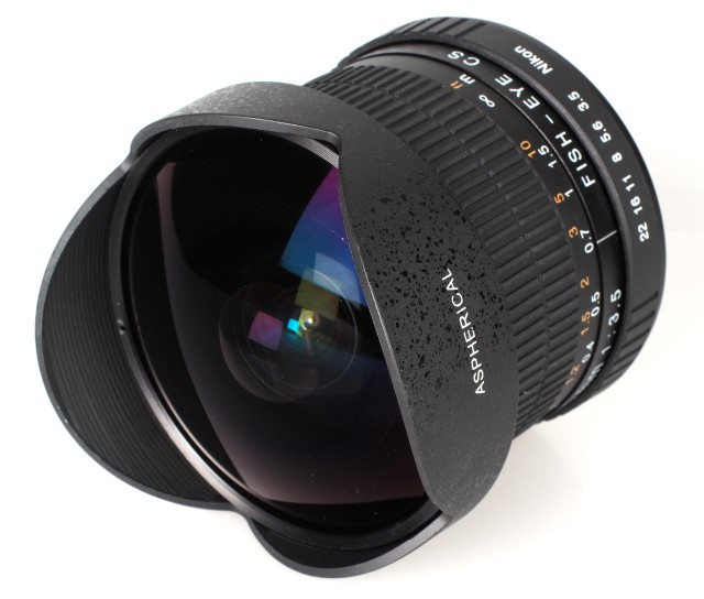 Ephotozine reviews the Kelda 6.5mm f/3.5 Fisheye Lens Review
