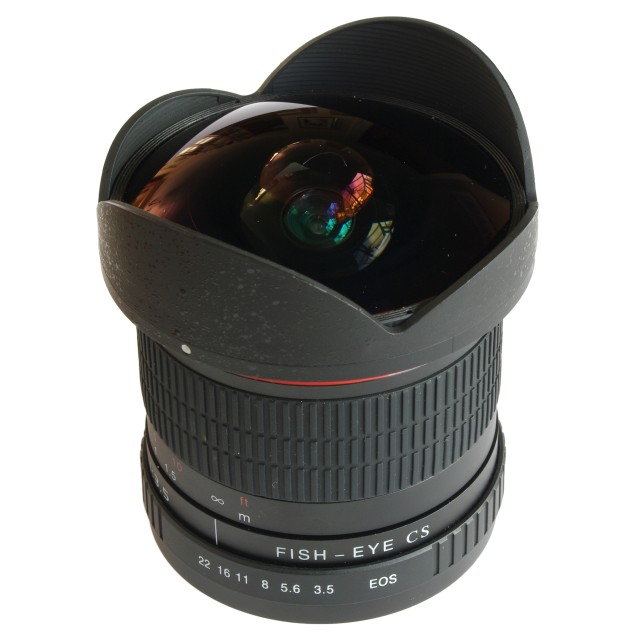 Ephotozine reviews the Kelda 8mm f/3.5 Fisheye CS Lens Review