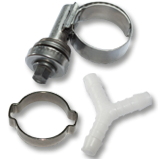 Hose Clips, Joiners & Fittings