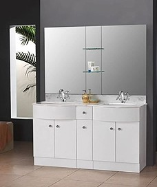 AQVA Fitted Bathroom Furniture