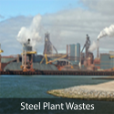Base metal recovery from Steel plant waste