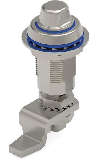 New stainless steel IP69K 440 series Hygienic Compression Lock from Essentra Components