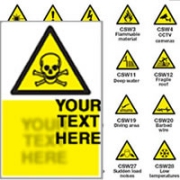 Custom Made Safety Signs