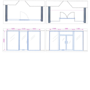 Commercial plans and architectural services for shopfronts.