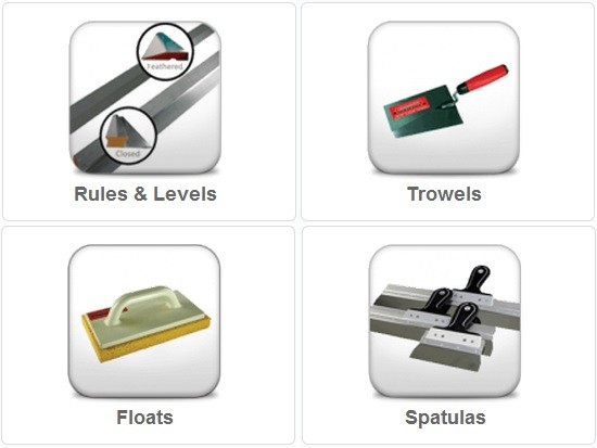 Plastering Tool and Consumables