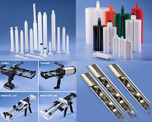 Static Mixers Cartridges and Dispensers