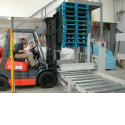 Pallet Magazine and Conveyors