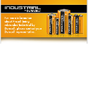 Duracell Batteries, Coin Cells, Battery Packs and Sealed Lead Acid.