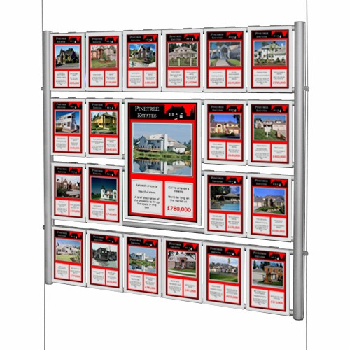 Estate Agent Ladder Displays