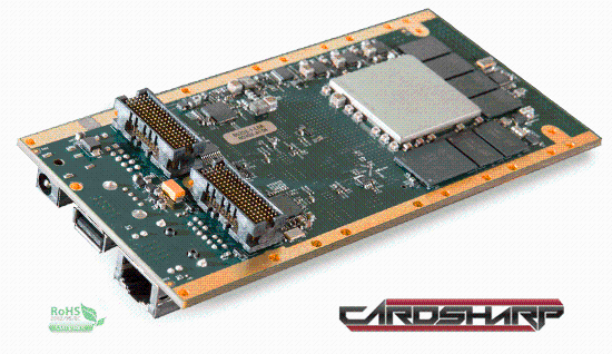 Cardsharp: SBC with Xilinx Zynq and FMC HPC Host Site