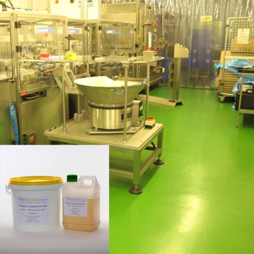 Anti-Slip Epoxy Coating Floor Paint