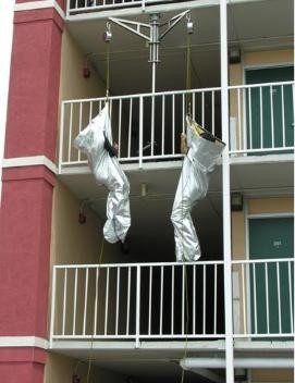High-Rise Fire Escape Systems