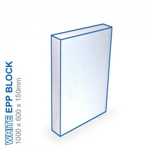EPP Block - 1000x600x150mm (White)