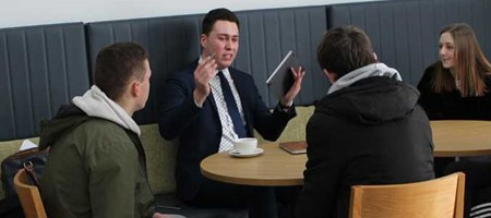 Petroc Speed Networking Event