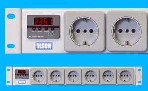 Power Meters International Sockets