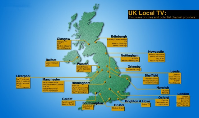 UK's Local TV Network