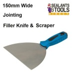 150mm Wide Skimming Filler Taping Jointing Knife Scraper 675241