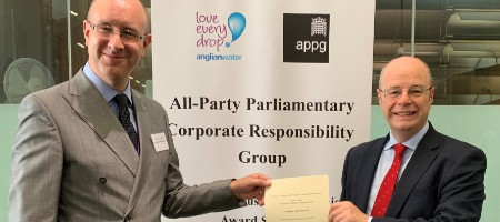 Parliamentary recognition for Applegate's corporate responsibility