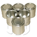 Lever lid and screw cap tin cans
