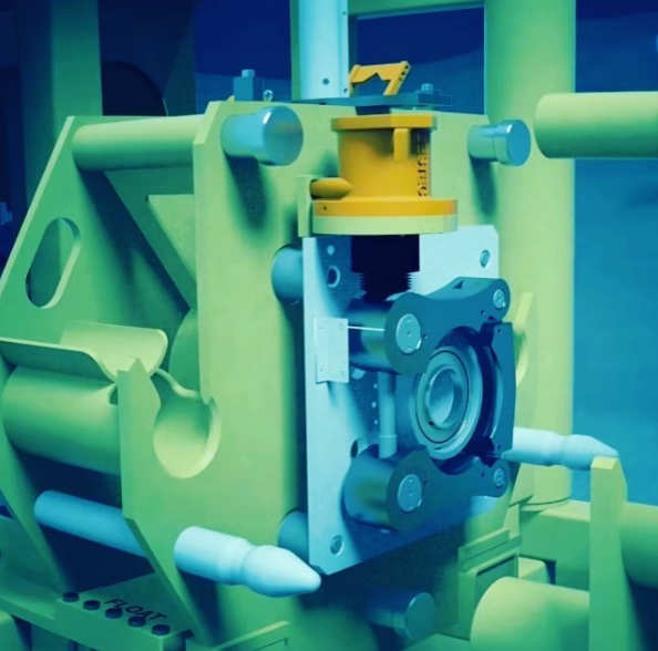 ROV operated connectors