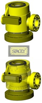 Stacey Rotating Control Divertor Head